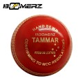 TAMMAR CRICKET BALL 4PCE 156GM (RED AND WHITE)