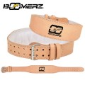 Weight Lifting Leather Belt (4.15 inch Memory Foam)